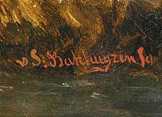 Detail images: Hendrik van de Sande-Bakhuyzen, 1795 Haag – 1860
