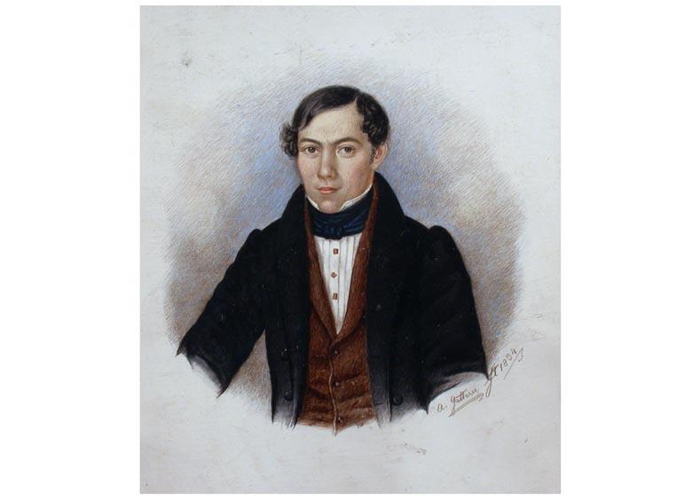 Andreas Gatterer, Portraitist des 19. Jahrhunderts