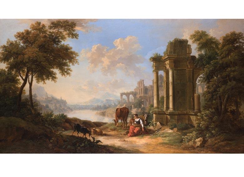 Christian Georg Schütz, 1718 Flörsheim - 1791 Frankfurt