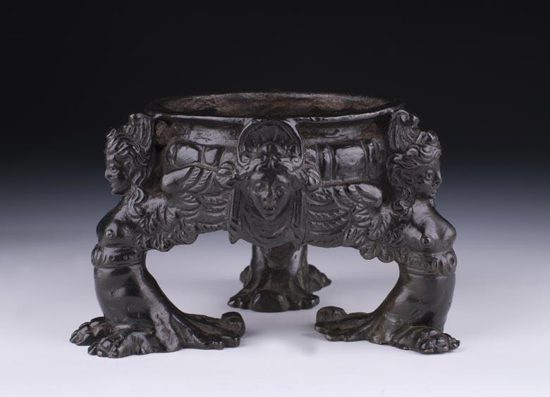 Italienisches Bronze-Tintenfass