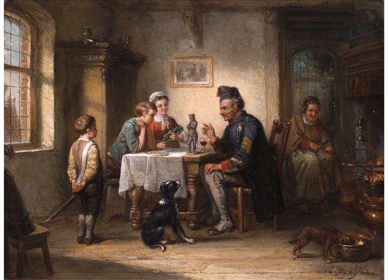 Henrikus Engelbertus Reyntjiens, 1817 Amsterdam - 1900