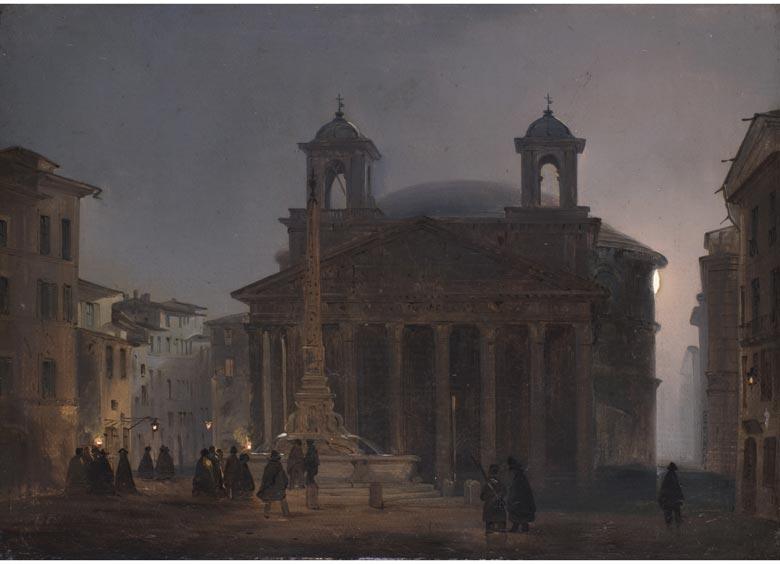 Ippolito Caffi, zug. 1809 Belluno - 1866 Lissa