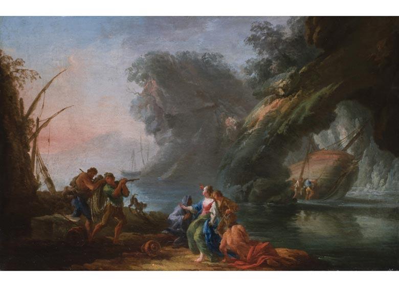 Claude Joseph Vernet, 1714 Avignon - 1789 Paris