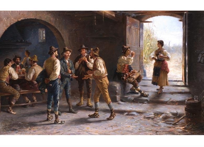Pietro Tonello, Italienischer Maler des 19. Jahrhunderts
