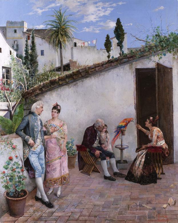 Maler der spanischen Schule des 19. Jahrhunderts