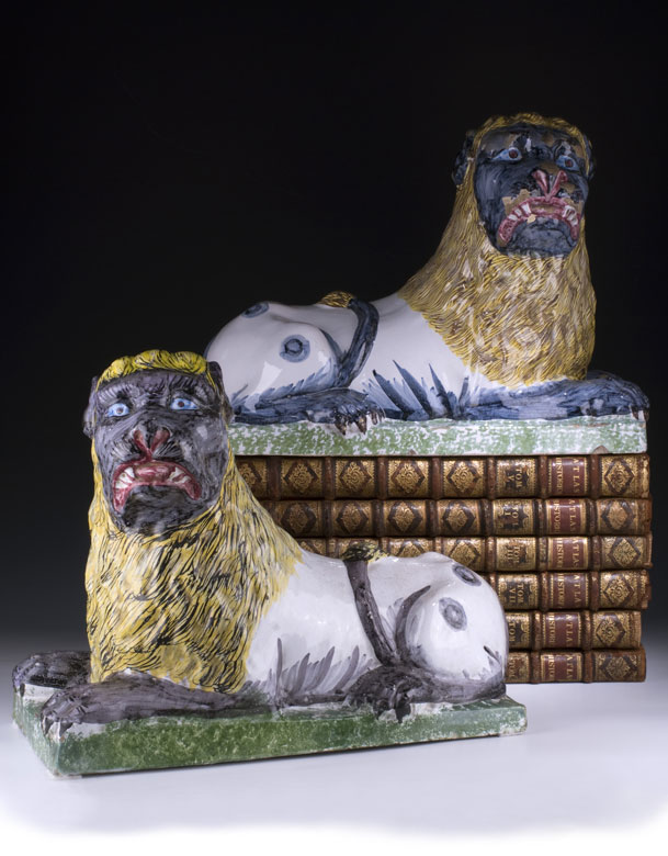Paar Löwen