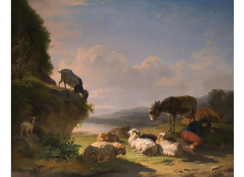 Eugène Verboeckhoven, 1799 Warneton - 1881 Brüssel