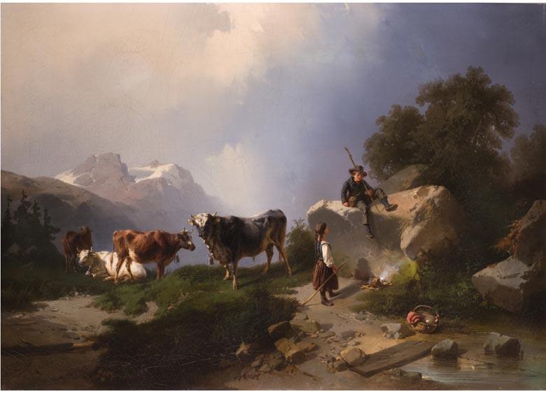 Carl Triebel, 1823 Dessau - 1885 Wernigerode