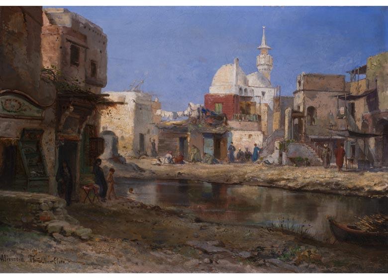 Pierre Tetar van Elven, 1828 - 1908