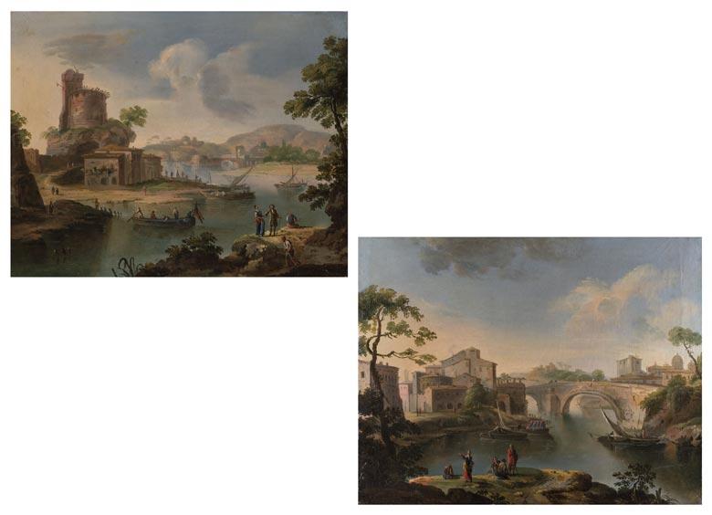 Paolo Anesi, 1697 - 1773 Rom