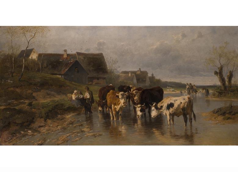Christian Friedrich Mali, 1832 Broekhuizen - 1906 München
