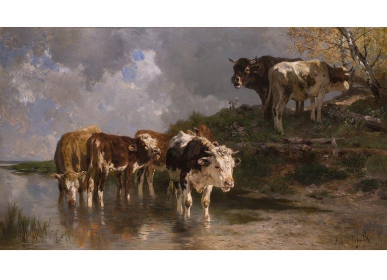 Anton Braith, 1836 Biberach - 1905 ebenda