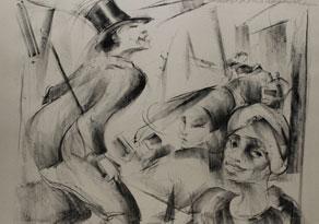 Detail images:  Konvolut von Grafiken des 20. Jahrhunderts mit Tanzszenen