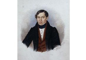 Detail images:  Andreas Gatterer, Portraitist des 19. Jahrhunderts