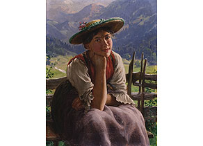 Rau Emil, 1858 - 1937, Maler der Münchner Schule