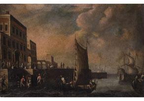 Detailabbildung: Italienischer Maler des 17. Jahrhunderts (Abb. links)