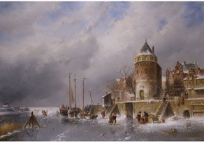 Charles Henrik Joseph Leickert, 1816 Brüssel - 1907 Mainz