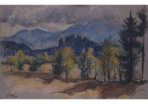 Christian Rohlfs, 1849 Niendorf - 1938 Hagen