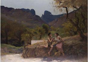Detail images:  Auguste Alexandre Hirsch, 1833 Lyon - 1912 Paris