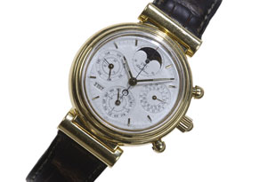 Detail images:  Herrenarmbanduhr IWC, Chronograph Da Vinci