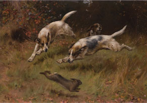 Detail images:  Thomas Blinks, 1860 - 1912