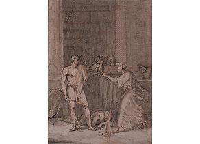 Detail images:  Pierre Nolasque Bergeret, 1782 Bordeaux - 1863 Paris
