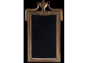 Detail images:  Louis XVI-Spiegel mit goldenem Rahmen