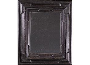 gro er ebonisierter rahmen des 17 jahrhunderts mit spiegel hampel fine art auctions. Black Bedroom Furniture Sets. Home Design Ideas