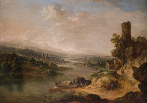 Christian Georg  Schütz, I.1718 Flörsheim - 1791 Frankfurt am Main,