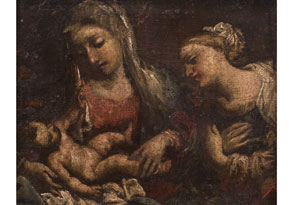 Oberitalienischer Maler in der Nachfolge von Correggio