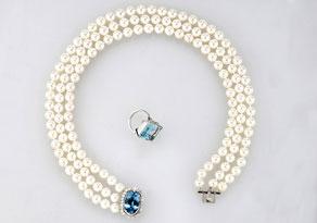 Detail images:  Perlencollier