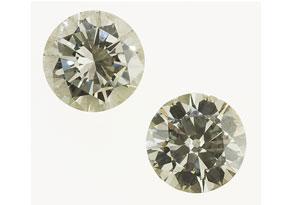 Detail images:  Zwei lose Brillanten