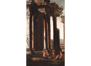 Detail images:  Gian Paolo Panini, Umkreis, 1691 - 1765 Rom
