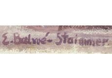 Detail images: Elisabeth Balwé-Staimmer, 1896 Straubing - 1973 Traunstein