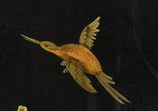 Detail images: Holländisches Chinoiserie-Lackkabinett
