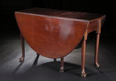 Detail images: Englischer Gateleg-Tisch