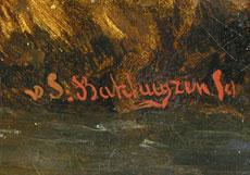 Detailabbildung: Hendrik van de Sande-Bakhuyzen, 1795 Haag - 1860 1860