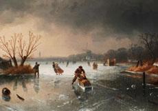 Detail images: Charles Henrik Joseph Leickert, 1816 Brüssel - 1907 Mainz
