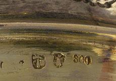 Detail images: Münchner Silber-Deckelpokal