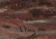 Detail images: Otto Pilny, 1866 Budweis - 1936 Zürich (Abb. rechts)