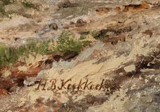 Detail images: Hendrik Barend Koekkock, 1849 - 1909