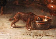 Detailabbildung: Henrikus Engelbertus Reyntjiens, 1817 Amsterdam - 1900