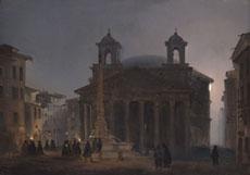 Detailabbildung: Ippolito Caffi, zug. 1809 Belluno - 1866 Lissa