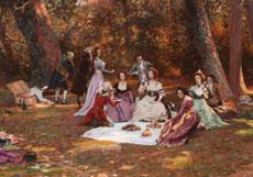 Detail images: Marie-François Firmin-Girard, 1838 - 1921