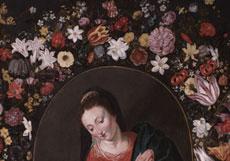 Detail images: Andries Daniels, 1580 Antwerpen - 1640, und Umkreis des Peter Paul Rubens
