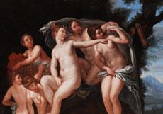 Detail images: Francesco Albani, zug. 1578 Bologna - 1660