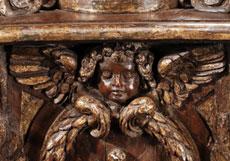 Detail images: Paar große Bodenkandelaber