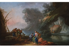 Detailabbildung: Claude Joseph Vernet, 1714 Avignon - 1789 Paris