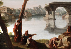 Detailabbildung: Giovanni Battista Busiri, 1698 Rom - 1757