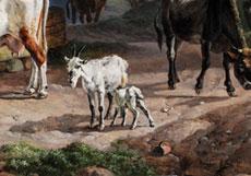 Detail images: Heinrich Bürkel, 1802 Pirmasens - 1869 München, Bedeutender Maler der Münchner Schule